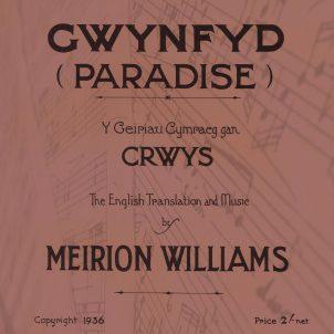 Meirion Williams - Gwynfyd RED square copy